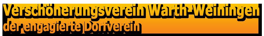 Verschönerungsverein Warth-Weiningen